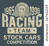 stock car racing team   vintage ...