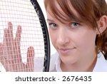 teen tennis player | Shutterstock . vector #2676435
