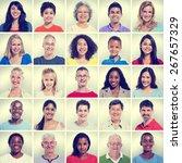 portrait of group diversity