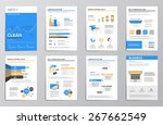 flat design business... | Shutterstock .eps vector #267662549