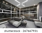 interior design  big empty... | Shutterstock . vector #267667931