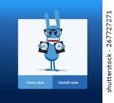 application window interface...