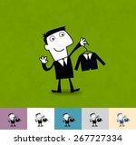 dress code. business... | Shutterstock .eps vector #267727334