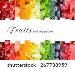 Fresh Fruits And Vegetables....