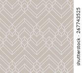 abstract luxury gold   beige... | Shutterstock .eps vector #267743525