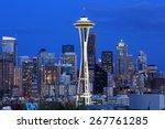 Downtown Seattle  Wa  Usa   Ap...