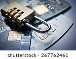 credit card data security   Shutterstock . vector #267762461