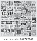 mega set of vintage retro... | Shutterstock .eps vector #267779141