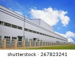 white modern factory building | Shutterstock . vector #267823241