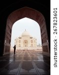 agra  india   feb 26  2015 ... | Shutterstock . vector #267823601