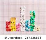 rising cost of prescription... | Shutterstock . vector #267836885