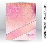 nice pink tender design... | Shutterstock .eps vector #267878384