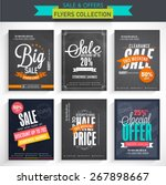 Collection Of Sale Flyers With...