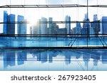 city lights urban scenic view... | Shutterstock . vector #267923405