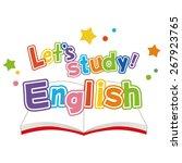 english study   Shutterstock .eps vector #267923765