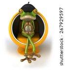 fun frog | Shutterstock . vector #267929597