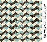 geometric pattern seamless.... | Shutterstock .eps vector #267937949