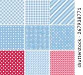 vector abstract set pattern... | Shutterstock .eps vector #267938771
