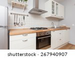 bright kitchen full of light | Shutterstock . vector #267940907