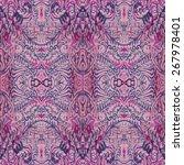 purple vintage pattern | Shutterstock .eps vector #267978401
