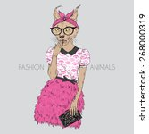 Fashion Animal Illustration ...