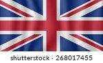 united kingdom flag   Shutterstock .eps vector #268017455