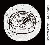 doodle stew | Shutterstock .eps vector #268069091