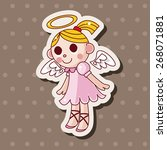 angel theme elements | Shutterstock .eps vector #268071881