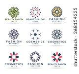 flowers  7  | Shutterstock .eps vector #268154225