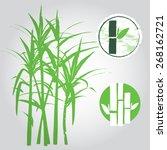 sugar cane    Shutterstock .eps vector #268162721