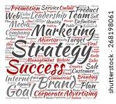vector concept or conceptual... | Shutterstock .eps vector #268198061