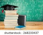 graduation  book  university. | Shutterstock . vector #268233437