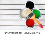 paint  paint can  hardware... | Shutterstock . vector #268238741