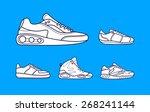 vector illustration of set... | Shutterstock .eps vector #268241144