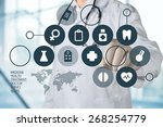 doctor  network  medical. | Shutterstock . vector #268254779