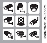 Collection Of Cctv And Securit...