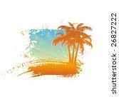 tropical background | Shutterstock .eps vector #26827222