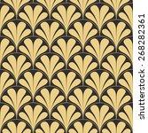 seamless antique palette retro... | Shutterstock .eps vector #268282361