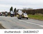 northumberland  england  april...   Shutterstock . vector #268284017