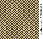 seamless antique palette op art ... | Shutterstock . vector #268289621