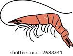 prawn | Shutterstock .eps vector #2683341