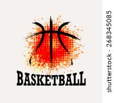 Vector Grunge Basketball    T...