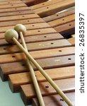 wooden xylophone | Shutterstock . vector #26835397