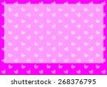 vector hearts set | Shutterstock .eps vector #268376795