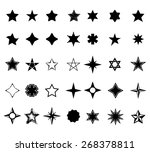 set of stars | Shutterstock .eps vector #268378811