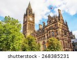 Manchester Town Hall  Uk With...