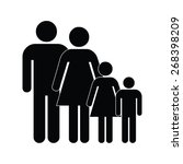 family icon | Shutterstock .eps vector #268398209