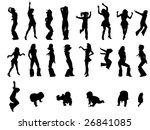 illustration of different... | Shutterstock . vector #26841085