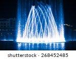 Beautiful Fountain At Night...