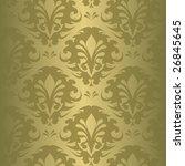 illustration of a green vintage ... | Shutterstock .eps vector #26845645